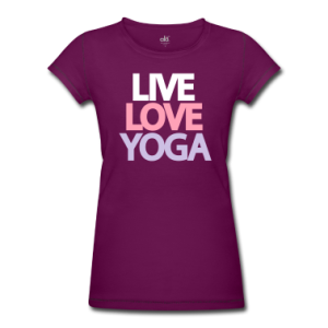 live-love-yoga-Women-s-T-Shirts